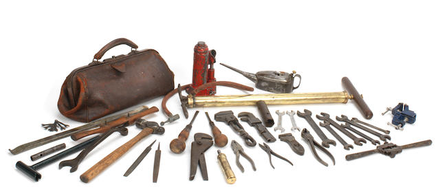 Assorted tools to suit a Veteran car,   ((Qty))