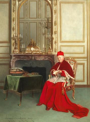 Georges Croegaert (Belgian, 1848-1923) Meditation