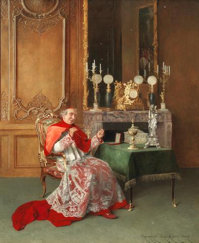 Georges Croegaert (Belgian, 1848-1923) Presentation