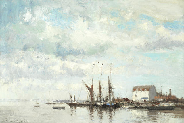 Edward Seago, RWS (British, 1910-1974) Tide Mill, Woodbridge