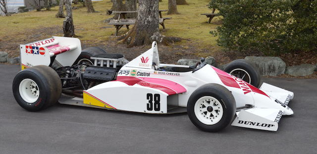 The ex-Ross Cheever,1987 March 87B F3000 Monoposto  Chassis no. 87B-16