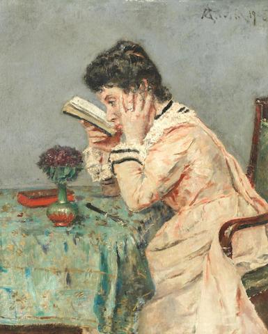Alfred Stevens (Belgian, 1823-1906) La Myope