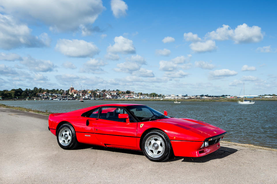 Delivered new in the UK; Ferrari Classiche certified,1985 Ferrari 288 GTO Coupé  Chassis no. ZFFPA16B000056207