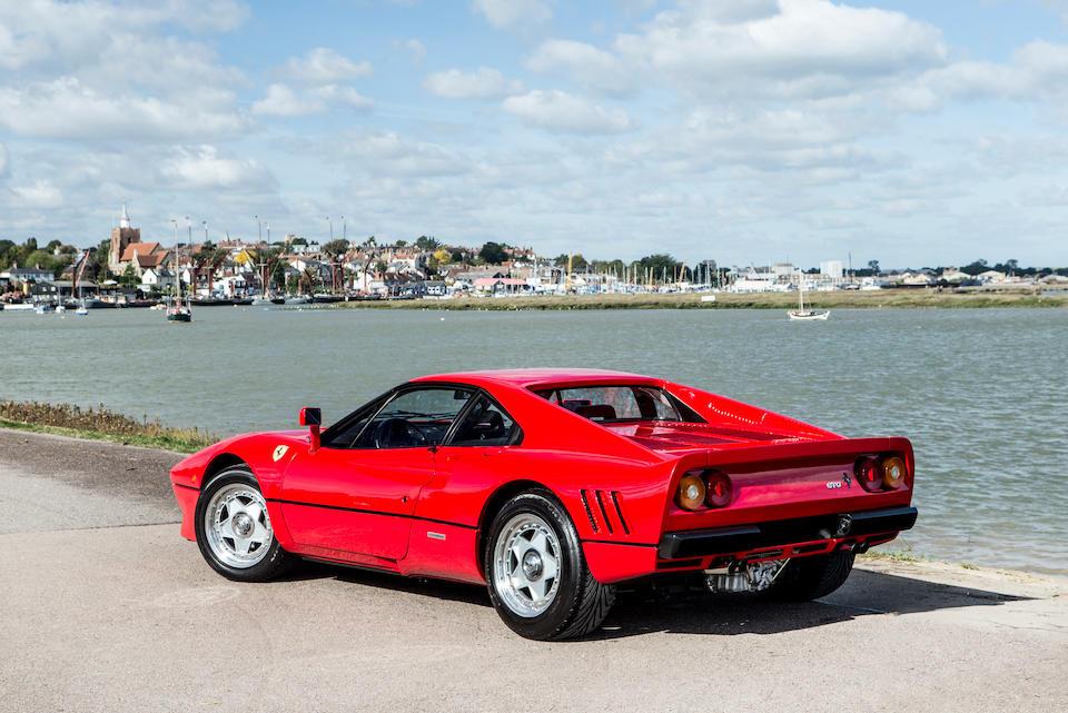Delivered new in the UK; Ferrari Classiche certified,1985 Ferrari 288 GTO Coupé  Chassis no. ZFFPA16B000056207