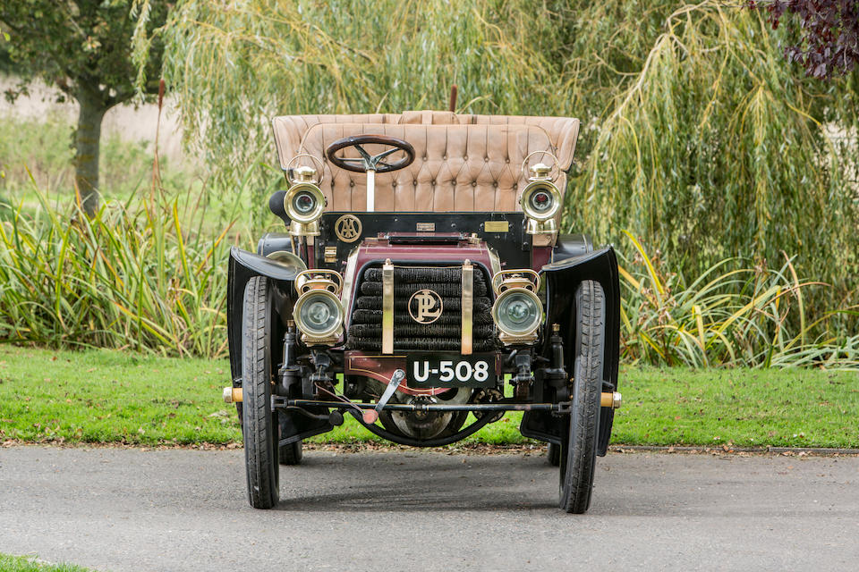 1903 Panhard et Levassor Model B 10hp Four-Cylinder Rear-entrance Tonneau  Chassis no. 6090