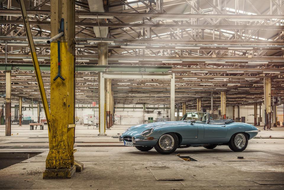 1963 Jaguar E-Type Series 1 3.8-Litre Roadster  Chassis no. 879300