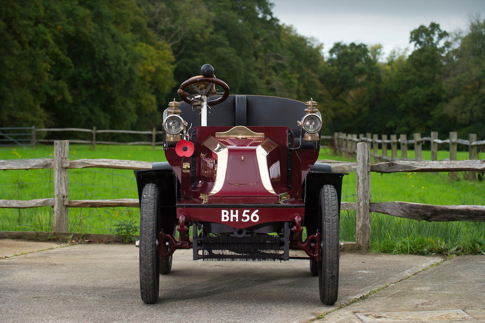 1901 Darracq Model C 6½hp Single-Cylinder Two-seater  Chassis no. 945