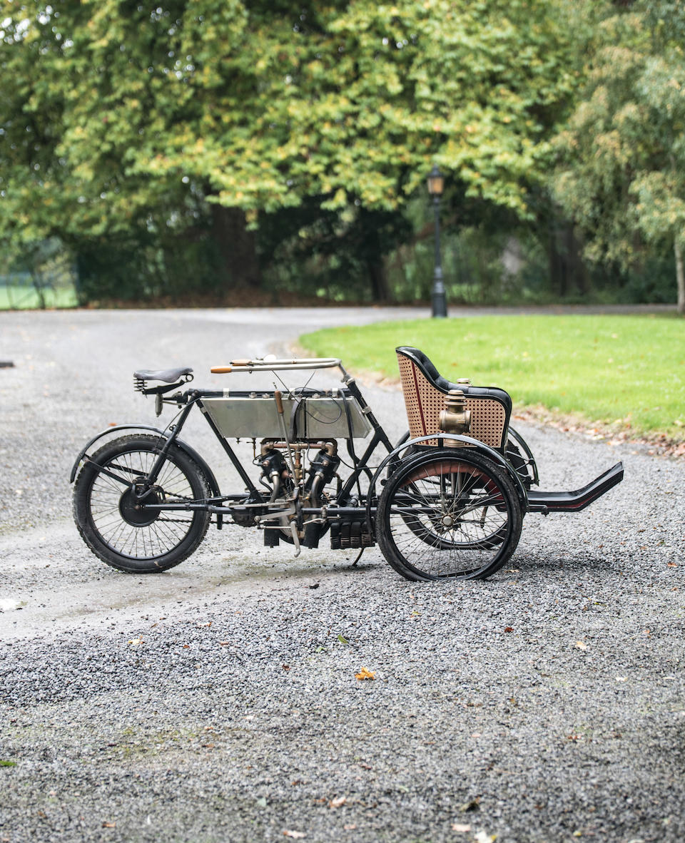 Property from a Private European Collection,c.1904  La Libellule  V Twin Tricar  Chassis no. 1358