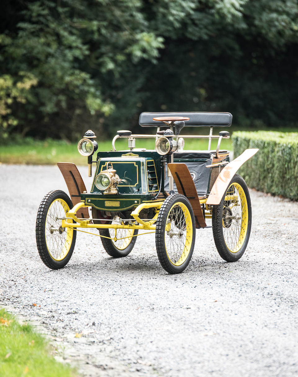 Property from a Private European Collection,c.1899  Vivinus 3½hp Two-Seater Voiturette   Engine no. 85