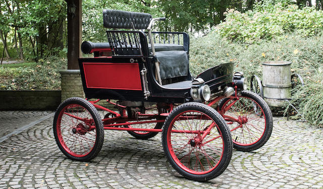 Property from a Private European Collection,1902 Toledo Junior Steam Car  Engine no. Tba