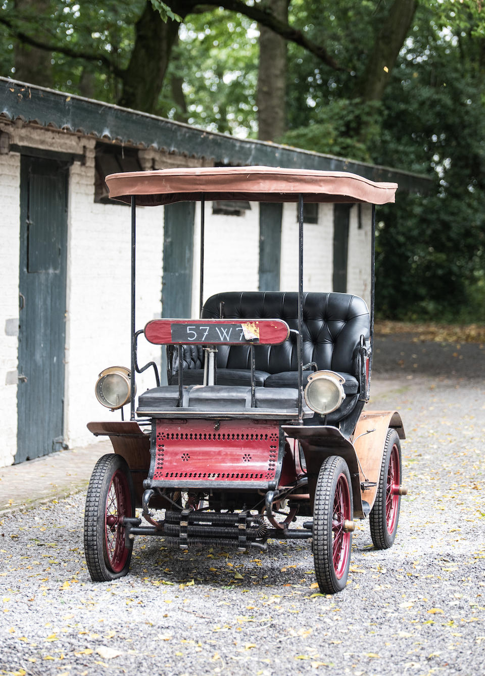 Property from a Private European Collection ,1902 De Dion Bouton Type L 6hp Vis-à-vis  Engine no. 8494
