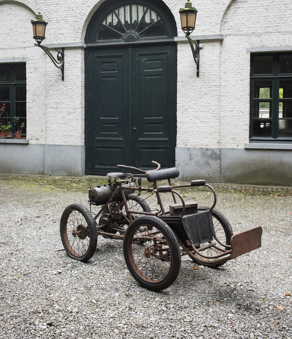 Property from a Private European Collection,c.1900 De Dion Bouton Quadricycle  Chassis no. 9885