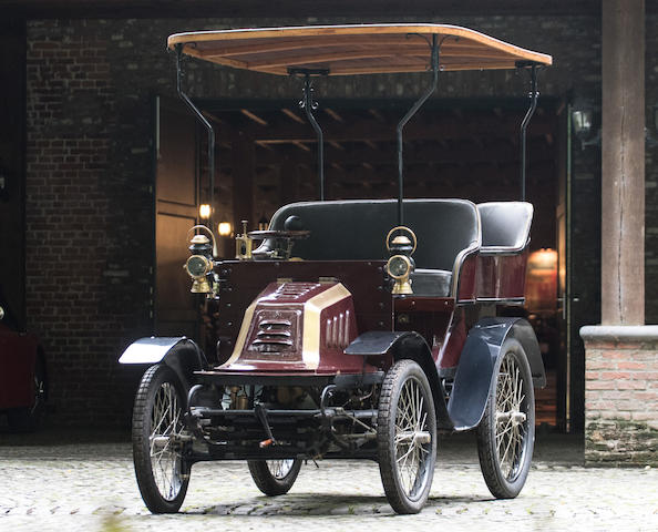 Property from a Private European Collection,1901 Hurtu Type H 4½hp Rear-Entrance Tonneau  Chassis no. 2091 Engine no. 6377