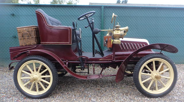 1904 De Dion Bouton Type Y 6HP Two-Seater  Chassis no. 16532