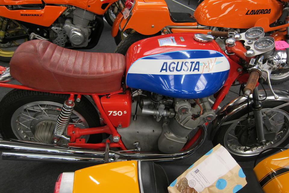 c.1972 MV Agusta 750S Frame no. MV4C75*2140278* Engine no. 214-0223*