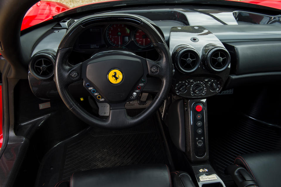 Ferrari Classiche Certified and only 7,800kms from new,2004 Ferrari Enzo Berlinetta  Chassis no. ZFFCZ56B000136740