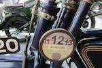 1914 Henderson 1,068cc Model C Four Frame no. B-2005 (casting number) Engine no. 2705