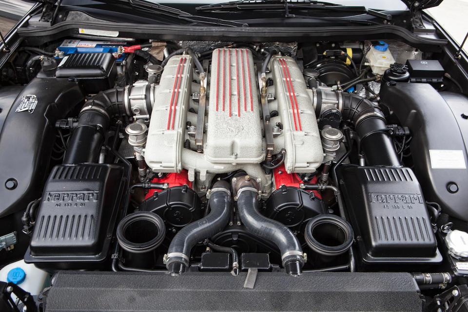 2004  Ferrari 575M Maranello F1    Chassis no. ZFFBT55B000135673