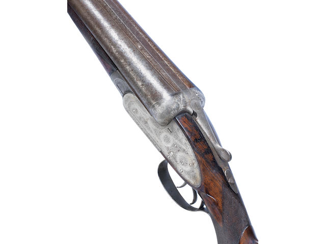 A rare 8-bore self-opening sidelock non-ejector wild-fowling gun by J. Purdey & Sons, no. 11819