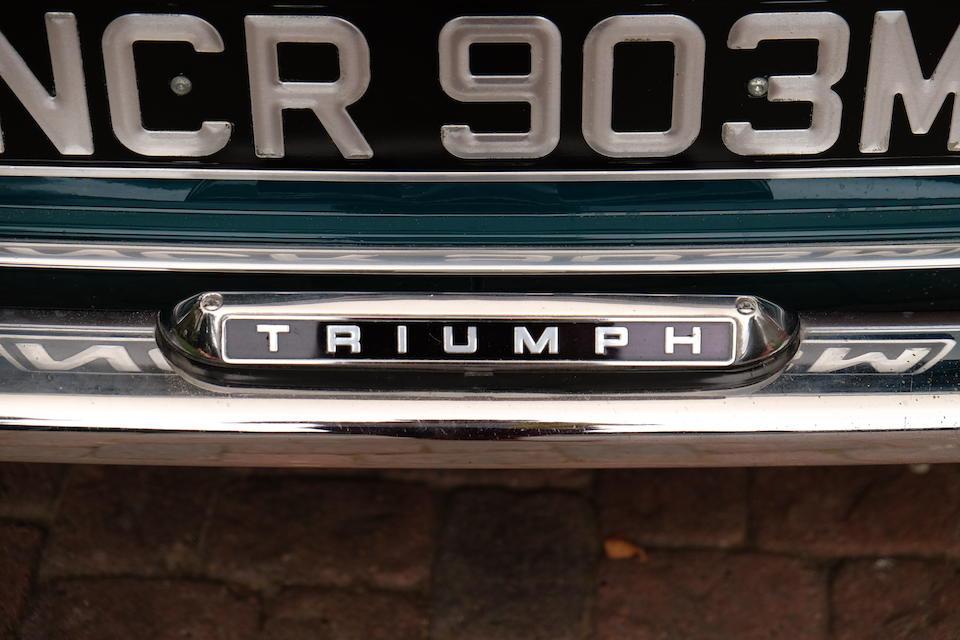 1972 Triumph GT6 Mark III Coupé  Chassis no. KE211150