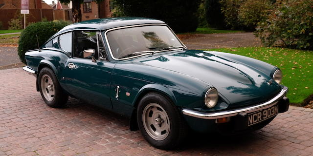 1972 Triumph GT6 Mark III Coupé  Chassis no. KE211150