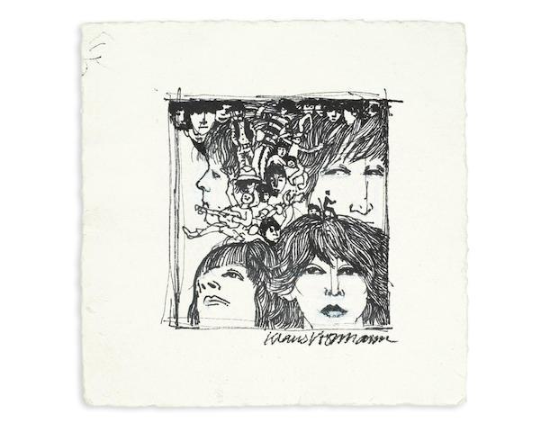 Klaus Voormann (German, b. 1938): The Beatles, circa 2003,