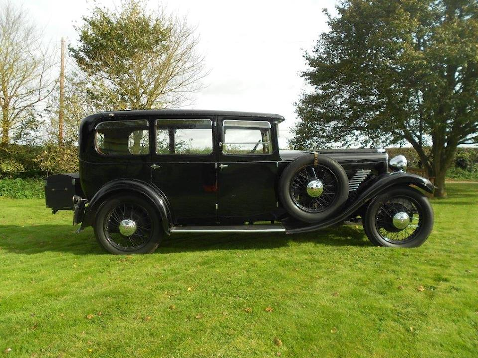 1931 Star Comet Saloon  Chassis no. D784