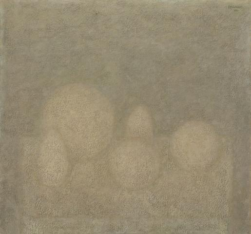 Vladimir Weisberg (Russian, 1924-1985) Still life with Spheres