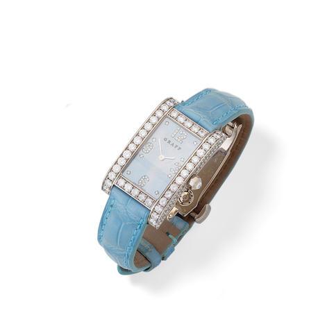 A diamond watch, by Graff
