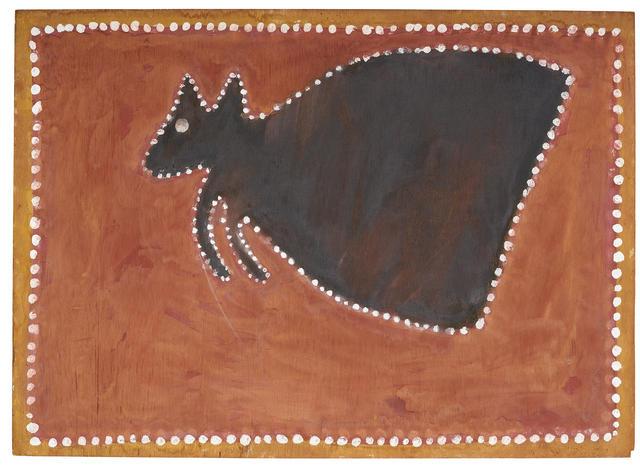 Paddy Jaminji (circa 1912-1996) (Tawurr the Kangaroo) c.1978/79