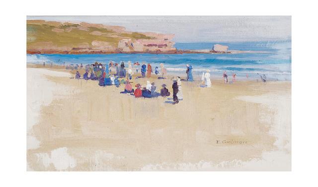Elioth Gruner (1882-1939) Bondi Beach, 1911