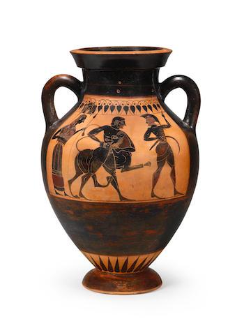 An Attic black-figure amphora (Type B)