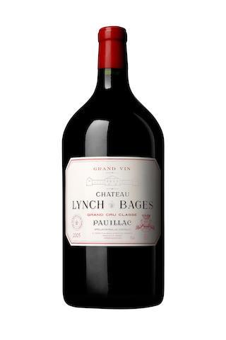 Château Lynch-Bages 2005, Pauillac 5me Cru Classé (1 double-magnum) Château Les Ormes de Pez 2005, Pauillac Cru Bourgeois (1 double-magnum)