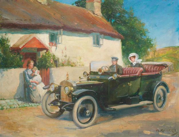 A. Gilbert, 'Daimler Tourer',