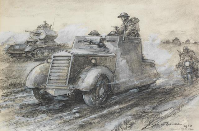 Bryan de Grineau (1883-1957), 'Scout Armoured Brigade',