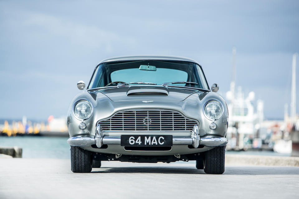 First owned by Sir Paul McCartney ,1964 Aston Martin DB5 4.2-Litre Sports Saloon  Chassis no. DB5/1653/R