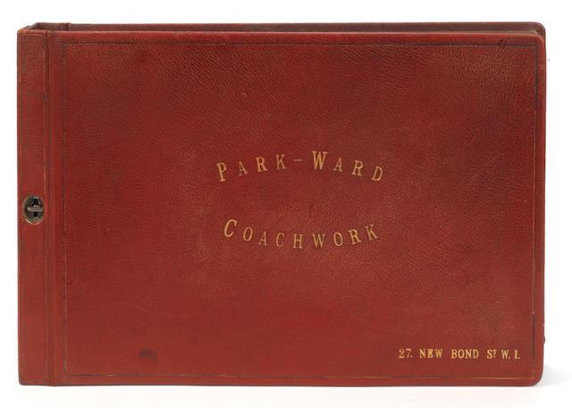 "A fine album of ""Park-Ward Coachwork"" photographs,"