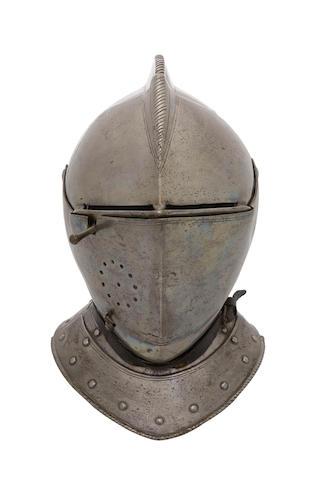 A German Close-Helmet For The Tilt