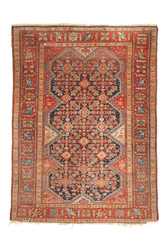 An Isfahan carpet Central Persia,  133cm x 190cm