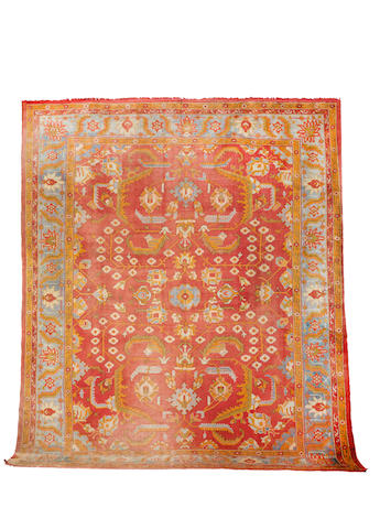 An Ushak carpet  West Anatolia, 442cm x 362cm