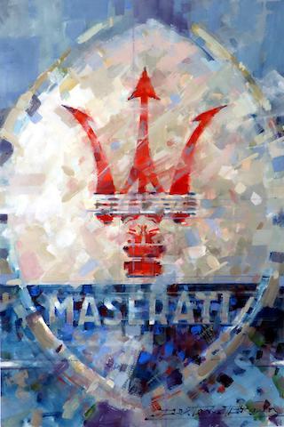 Maserati Emblem,