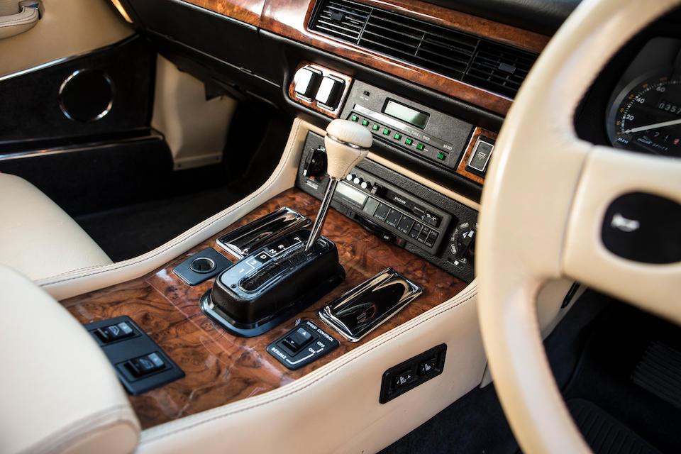 1989 Jaguar XJR-S 5.3-Litre Coupé  Chassis no. SAJJSAEW3BA156079