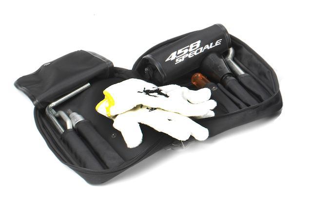A Ferrari 458 Speciale tool kit, 2014,
