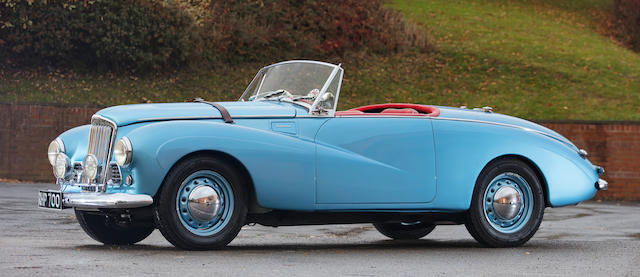 1955 Sunbeam  Talbot Alpine Roadster  Chassis no. 3501883 HRO