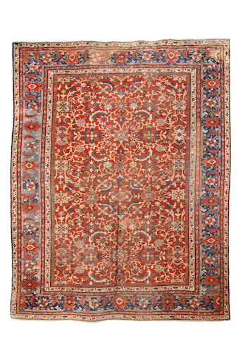 A Mahal Carpet West Persia, 294cm x 373cm