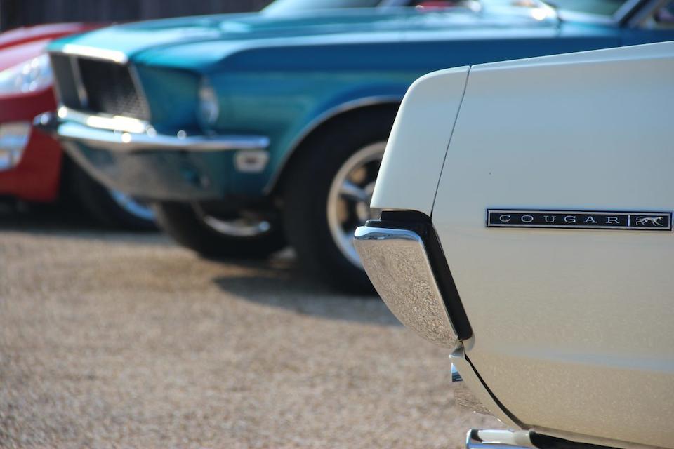 1967 Mercury Cougar Coupé  Chassis no. 7F91C526881