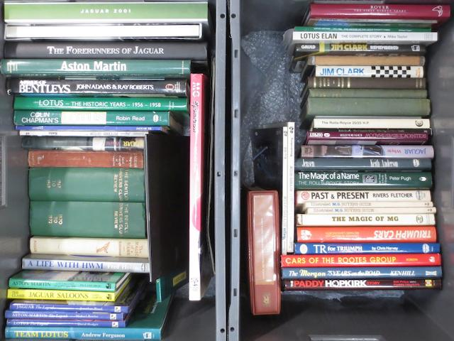 Assorted Motoring Books relating to British marques,    ((Qty))