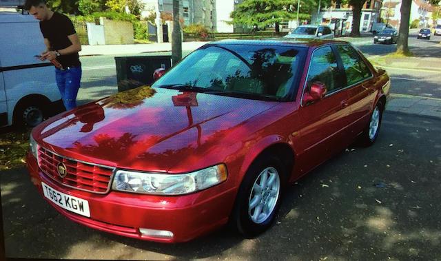 1999 Cadillac Seville STS Sedan  Chassis no. 1G6KY5499WU923539