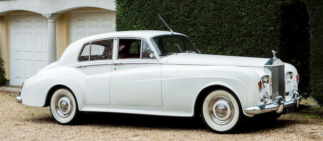 Formerly owned by Barbara Cartland,1964 Rolls-Royce Silver Cloud III Saloon  Chassis no. SGT101