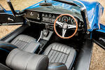 1973 Jaguar E-Type Series III V12 Roadster  Chassis no. 1S2206BW